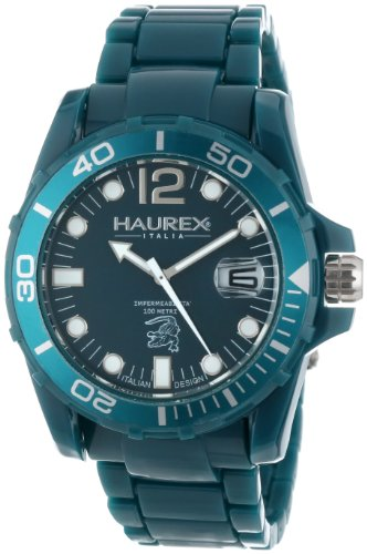 Haurex Italy Men's Watch XL Analogue Plastic B7354UBB Caimano