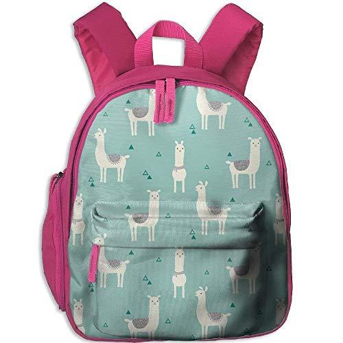 207dd0bc7d Funny Schoolbag Backpack Adorable Llama Toddler Kids Pre School Bag Cute 3D  Print Children School Backpack