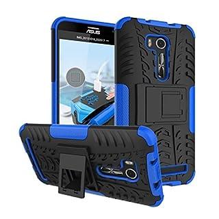 AIBULO® Asus Zenfone Go ZB551KL Hülle TPU Case Schutzhülle Silikon Crystal Case für Asus Zenfone Go ZB551KL (für Asus Zenfone Go ZB551KL, blau)