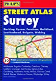 Philip's Street Atlas Surrey: Spiral Edition