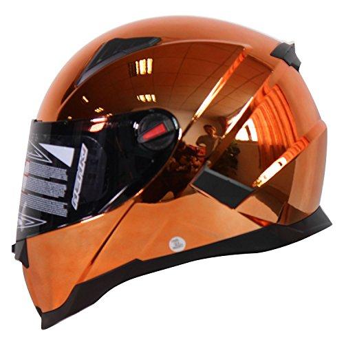 Nenki NK-861Vollvisier-Motorradhelm, ECE geprüft, mit Sonnenblende