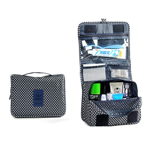 Pixnor Premium voyage pochette organisateur lavage à main maquillage cosmétiques affaire Toiletry Bag