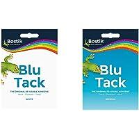 Bostik B183836 Blu Tack - White &801103 Blu Tack Handy