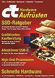 c't Hardware aufrüsten (2018): SSDs, Grafikkarten, Mainboards, Festplatten, Prozessoren (German Edition)