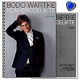 Pianoforte delikte–Song Book di Bodo wartke per pianoforte, Voce, Chitarra con colorato herzfoermiger Note KLAMMER