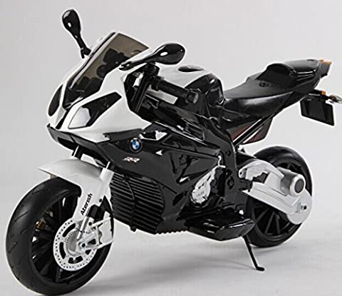New 2017 Model Official Licensed BMW S1000R Rechargeable Electric Ride on Motorbike Kids Sports Pocket Motor(Black)