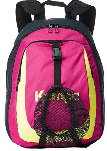 Kempa Zaino con Ball rete per bambini marine/Magenta/Giallo Fluo, 40x 35x 20cm, 20L
