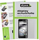 dipos I 2X Schutzfolie matt passend für Gigaset GS180 Folie Bildschirmschutzfolie