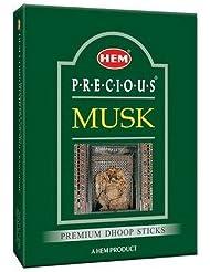 Hem Precious Musk Dhoop - 75 g