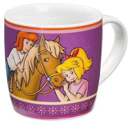 Bibi & Tina 12985 Porcelaine Tasse, Porcelaine, Multicolore