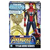 Hasbro Avengers E0608100 - Marvel Titan Hero Spider-Man Actionfigur, mit Power FX Pack, dt. Version