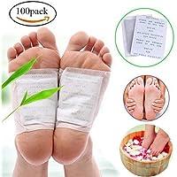 CLDGF 100Pack Fuß-Patch zur Förderung der Durchblutung, Schlaf und Reduzieren Ermüdung (mit Klebeband) preisvergleich bei billige-tabletten.eu