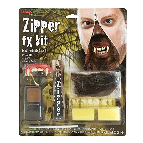 Deluxe Zipper Werwolf Makeup Kit