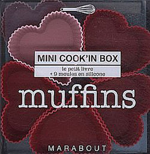Muffins mini cook'in box : Le livre avec 9 moules en silicone par Ilona Chovancova