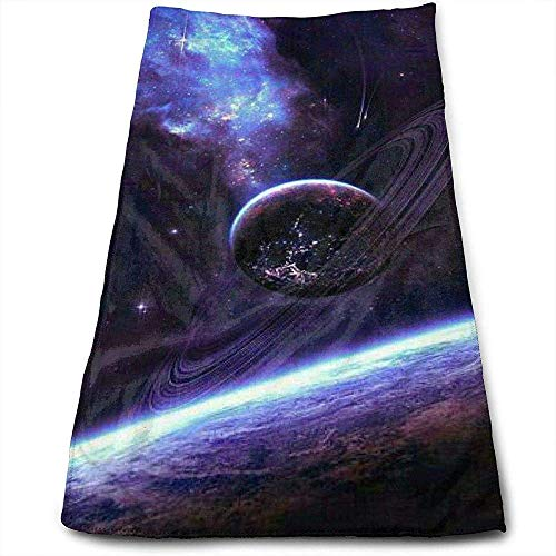 Juzijiang Bath Towels Galaxy Cluster Face Towels Highly Absorbent Washcloths Multipurpose Towels for Hand Face Gym and Spa 12