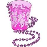 Schnapsglas zum Umhängen Junggesellinnenabschied Zubehör pink Schnapsglas Kette Schnapsbecher an Kette Junggesellenabschied Accessoires