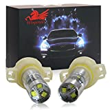 Win Power H16 / PSX24W / 5202 High Power Nebelscheinwerfer DRL Projektor 6000K Xenon Weiß Lampen Nebelleuchte, 2Pcs