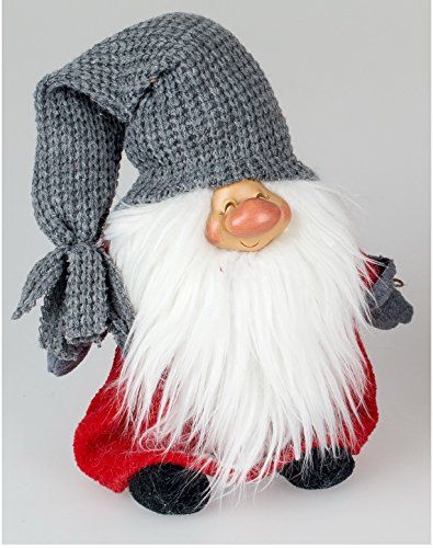 Weihnachtswichtel Türstopper Deko Wichtel Stoff Zwerg Gnom Troll Tür Puffer Sack Pastell Katze Tür
