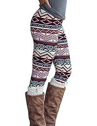 70df8e8a4 WanYang Mujeres Dama Skinny Impresión Elástico Skinny Pantalones ...