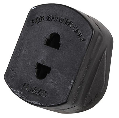 black-2-pin-to-uk-plug-shaver-adapter-1a-fused-uk-to-2-pin-electric-shaving-plug-ichoose