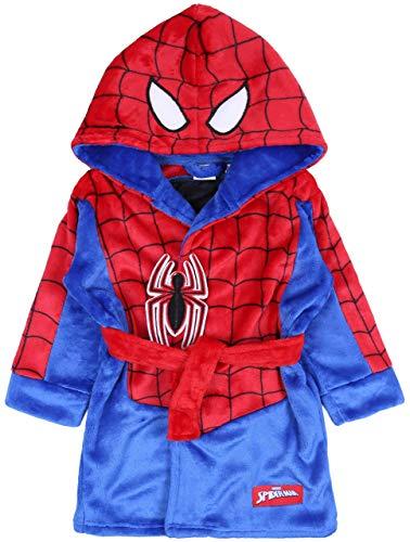 Albornoz Azul y Rojo Spiderman Marvel 2-3 años