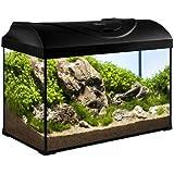 Diversa Aquariumset Startup noir,50x25x30 cm
