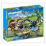 PLAYMOBIL Dino und Fahrzeug