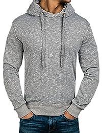 BOLF – Sweat à capuche – Pullover – Hoodie – Classic – Homme [1A1]