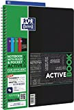 Oxford 15113 Cahier Activebook Reliure Intégrale A4+ 240 x 320mm Papier Assorties