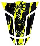 Tankpad 3D 501790-VA One & Only Monster Neon Yellow - protezione serbatoio universale adatta per serbatoi moto