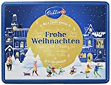 Bahlsen Weihnachtsdose - neues Motiv für 2019 - erlesene Gebäckmischung mit würzigen Lebkuchen und leckeren Zimtsternen - schöne Metalldose zum Sammeln, 6er Pack (6 x 300 g)