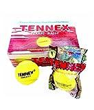 #6: Tennex Cricket Tennis Ball Yellow Heavy