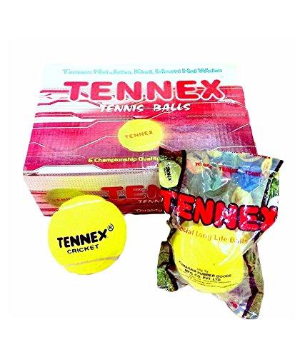 Tennex Cricket Tennis Ball Yellow Heavy