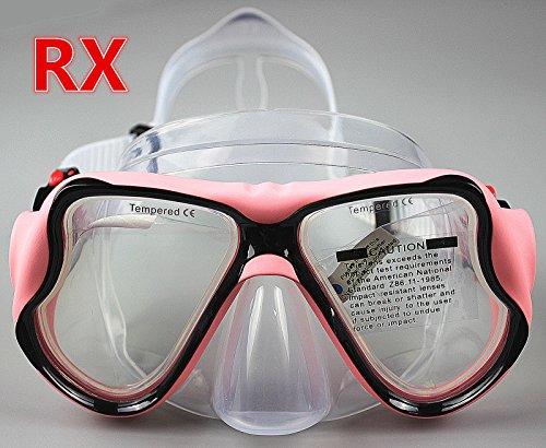 YEESAM SWIM Tauchermaske kurzsichtig Diving Tauch Schnorchel Maske NEARSIGHTED Verschreibung RX Sehstärke Mass Angefertigt