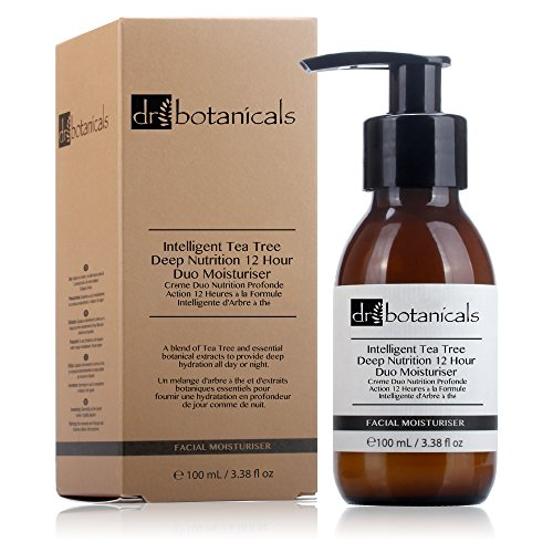 DR BOTANICALS Crema Facial Intelligent Tea Tree 100 ml