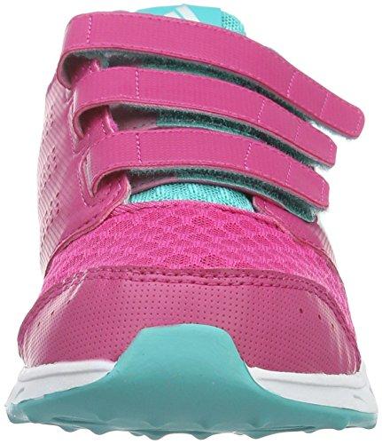 adidas Unisex – Bimbi 0-24 Lk Sport 2 Cf K scarpe da corsa Viola (Eqt Pink/Ftwr White/Vivid Mint)