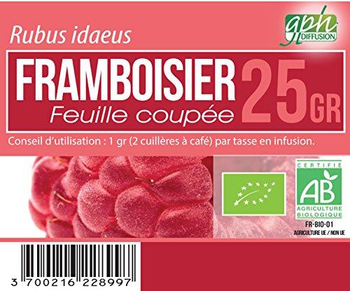 Tisane Framboisier Bio - 25 gr