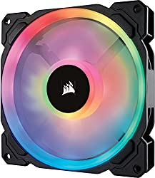 Corsair Co-9050074-ww Ll140 Rgb 140 Mm Dual Light Loop Led Pwm Fan - Black