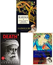 Karma + Death + Inner Enginnering (Set of 3 Books)