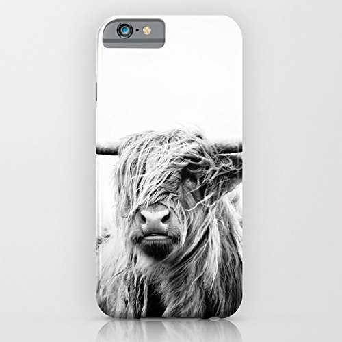 Cover iPhone 6s,TPU Gel Silicone Protettivo Skin Custodia Protettiva Shell Case Cover Per Apple iPhone 6 6S cow