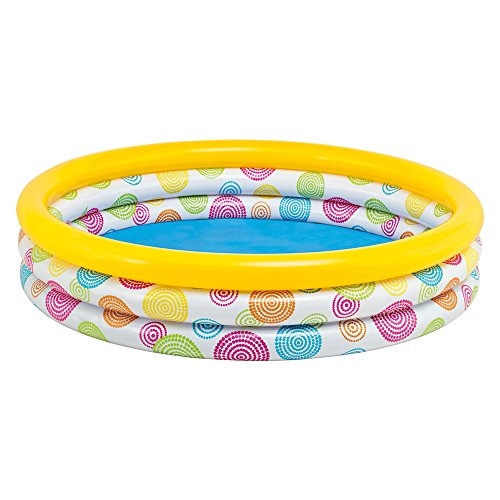 Intex 58439NP - 3-Ring-Pool - Wild Geometry, Durchmesser 147 x 33 cm