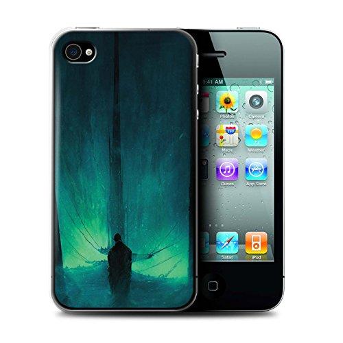 Offiziell Chris Cold Hülle / Case für Apple iPhone 4/4S / Pack 10pcs Muster / Dunkle Kunst Dämon Kollektion Bösen Herzens