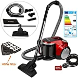 Best Bagless Canister Vacuums - Arrutesk Upright Cyclonic Vacuum Cleaner with Bag,Handheld Vacuum Review