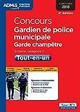 Concours Gardien de police municipale et Garde-champêtre - Catégorie C ...