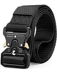 MUMUGO Cinturón táctico de los hombres Estilo militar con nosotros Cinturón  de nylon de alta resistencia 5573073270fc