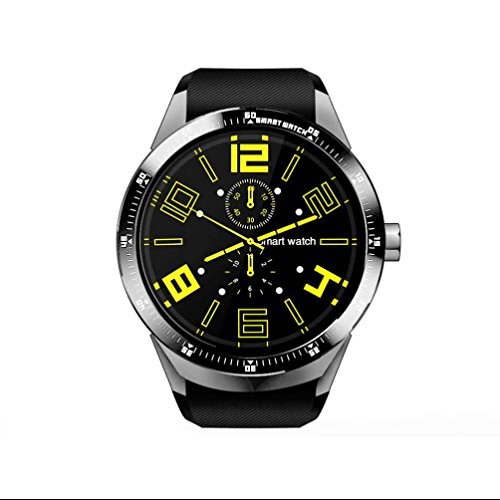 V/a Spur-anschluss (Smartwatch mit Sleep Überwachung High Sensitive Touch Screen Kalorien Record Sleep Qualität Überwachung Sport Uhr mit Android Telefon)