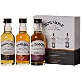 Bowmore 12, 15, 18 Jahre Whisky Miniaturen-Set (3 x 0.05 l)