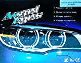 COTTON 4 x 106 mm CANBUS 3 Series E46 ci FACELIFT LED Angel Eyes Kit (2004-6) with White Projector 6000 K Angel Kit EYES