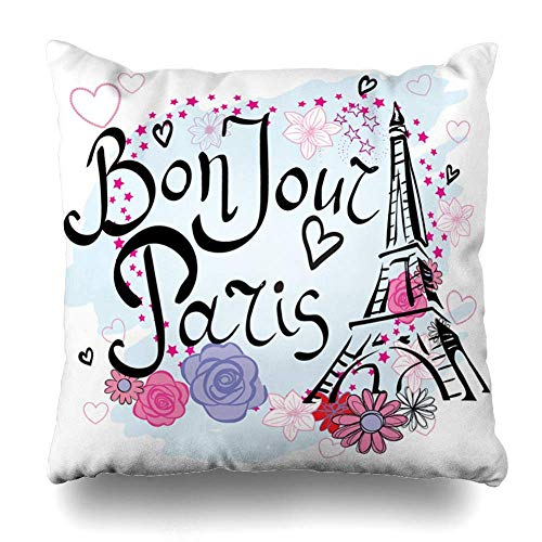 jingqi Throw Pillow Cover Instrument Band Hand Drawn Drum Kit Percussion Music Acoustic Bass Beat Concert Decorative Pillow Case 18x18 inches(45x45cm) es Square Home Decor Pillowcase (Rap Halloween Beats)