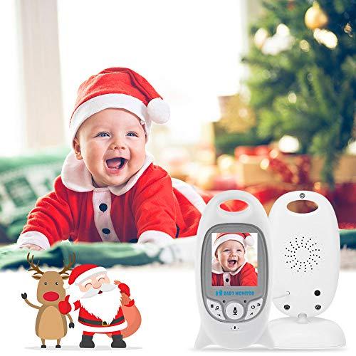 """iLifeSmart Ecoute Bébé Vidéo Babyphone/Moniteur Bébé sans Fil avec Caméra Surveillance 2.0""""Ecran &Vision de la Nuit …"""